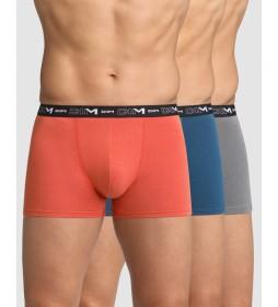 Pack de 3 boxers  básico multicolor