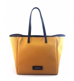 Bolso Shopping AC915STTOBE mostaza -30x46x19cm-