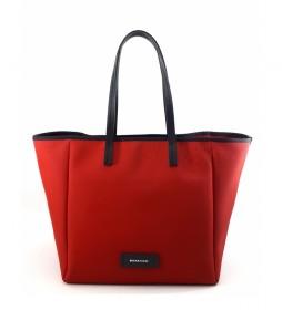 Bolso Shopping AC915STTOBE rojo -30x46x19cm-