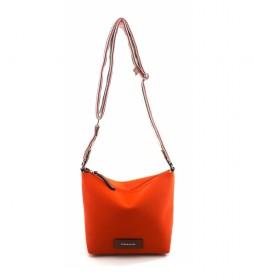 Bolso de Hombro AC220STTOMO naranja -21x23x14cm-