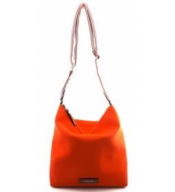 Bolso de Hombro AC222STTOMO naranja -32x31x12cm-