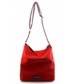 Bolso de Hombro AC222STTOMO rojo -32x31x12cm-