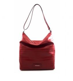 Bolso de piel AE222COSICE rojo -32x31x12cm-