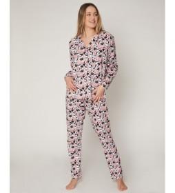 Pijama Bowtiful Minnie rosa