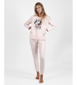 Pijama First Dates rosa peach