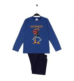 Pijama Lookingood azul