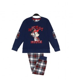 Pijama Mickey College marino