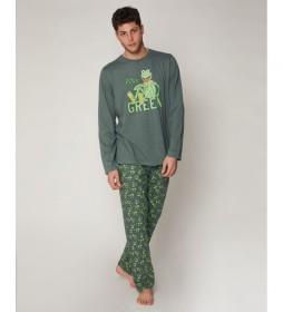 Pijama Stay Green caqui