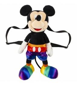 Mochila Casual Peluche Disney Pride multicolor-18x16x40cm-