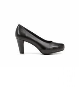 Zapatos de piel Blesa D5794 Sugar negro -Altura tacón: 8 cm-