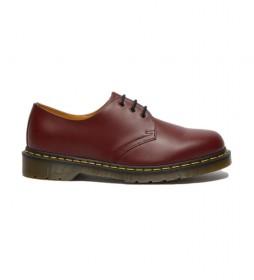 Zapatos de piel 1461 burdeos