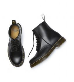 Botas de piel  negro