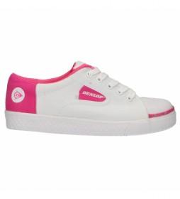 Zapatillas 35000 blanco, rosa