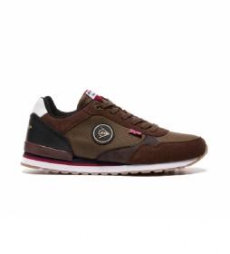 Zapatillas 35584 marrón