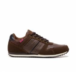Zapatillas 35594 marrón