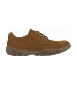 Zapatos de piel Turtle N5089 marrón
