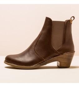 Botines N5492 Sylvan marrón -Altura tacón 5,5cm-