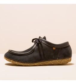 Zapatos de piel N5510  Redes negro