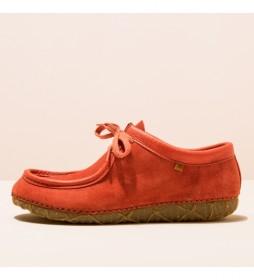Zapatos de piel N5510  Redes teja