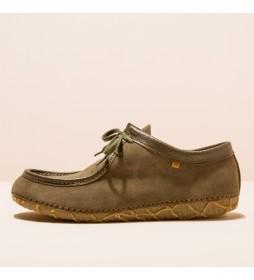 Zapatos de piel N5510  Redes verde