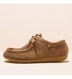 Zapatos de piel N5510  Redes marrón