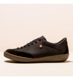 Zapatos de piel Meteo negro