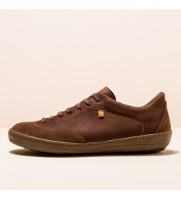 Zapatos de piel N5750  Meteo marrón