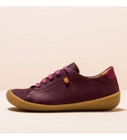 Zapatos de piel N5770 Pawikan morado