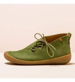 Botines de piel N5771 Pawikan verde