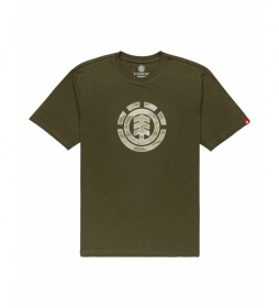 Camiseta Landscape verde