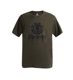 Camiseta Vertical verde
