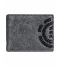 Cartera Daily gris -10x12cm-