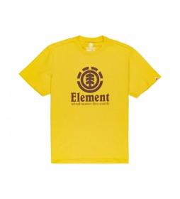 Camiseta Vertical amarillo