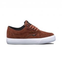 Zapatillas de piel Topaz C3 marrón