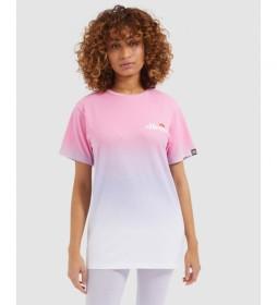Camiseta Labney Fade rosa, blanco