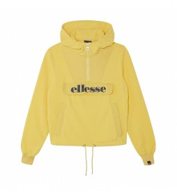 Sudadera polar con capucha Navu amarillo