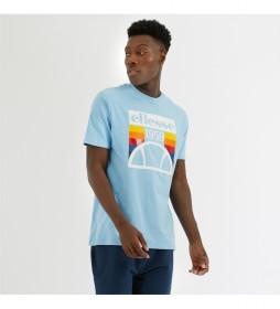 Camiseta Pirozzi azul