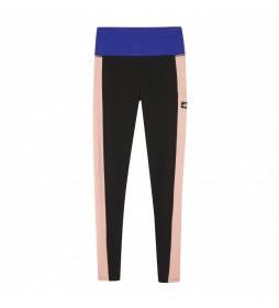 Leggings Unistyle negro, rosa