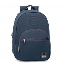 Mochila Basic azul-32x46x15cm-