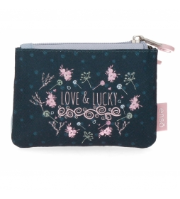 Monedero Enso Love and Lucky -11.5x8x2.5cm-
