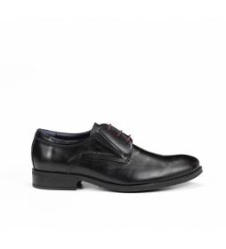Zapatos de piel Heracles 8410 Memory negro