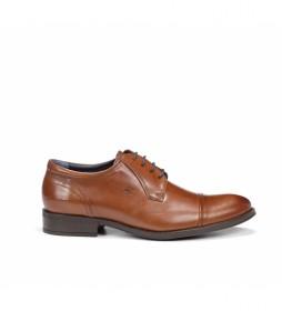 Zapatos de piel 8412 Memo marrón