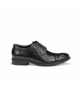 Zapatos de piel 8412 Memo negro