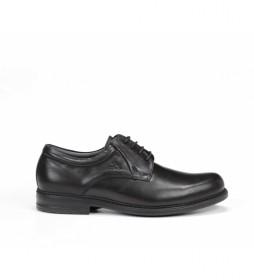 Zapatos de piel Simon 8466 negro