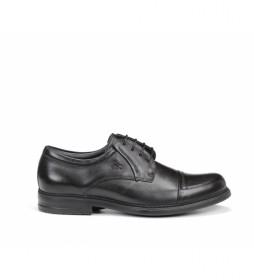 Zapatos de piel Simon 8468 negro