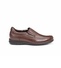 Zapatos de piel 8499 Ave marrón