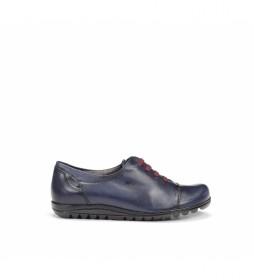 Zapatos de piel Evel 8876 Sugar marino