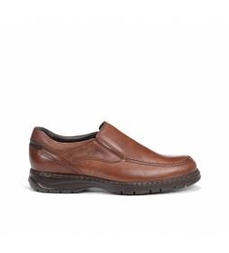 Zapatos de piel 9144 Crono marrón