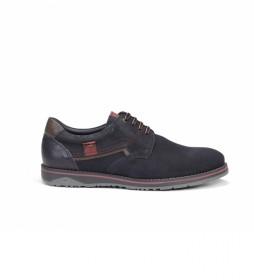 Zapatos de piel Brad 9474 marino