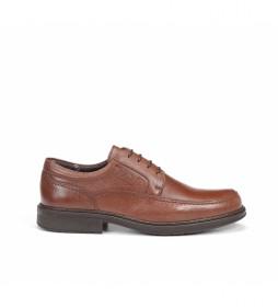 Zapatos de piel Clipper 9579 marrón